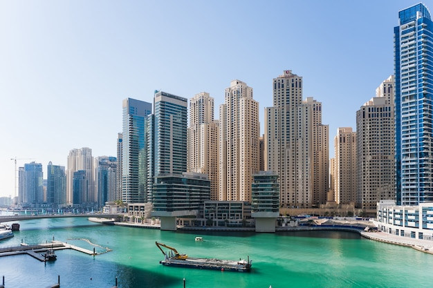 Dubai marina Free Photo