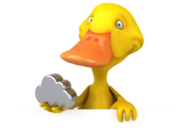 Duck illustration Premium Photo