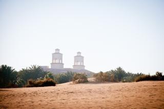 砂丘の風景 無料写真
