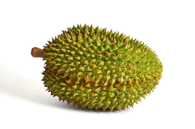 Durian fruit isolated on white background Premium Photo