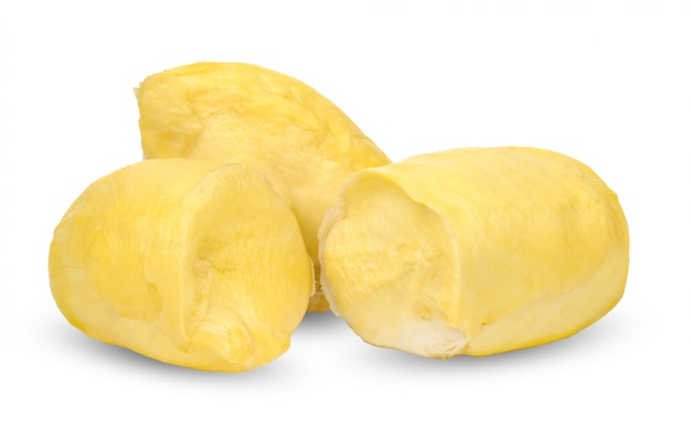 Durian isolated on white with clipping path Premium Photo