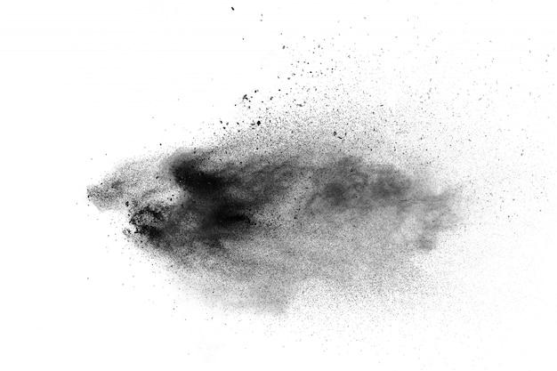 Dust particle splash background Premium Photo