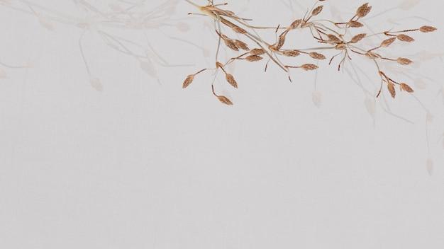 지구 톤 꽃 무늬 벽지 무료 사진