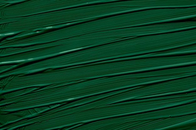 2020年のエデングリーンのトレンディな色。ブラシストロークで抽象芸術の背景。モノクロカラーテクスチャ。 Premium写真