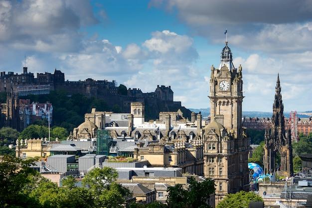 Edinburgh city, scoltland, uk Premium Photo