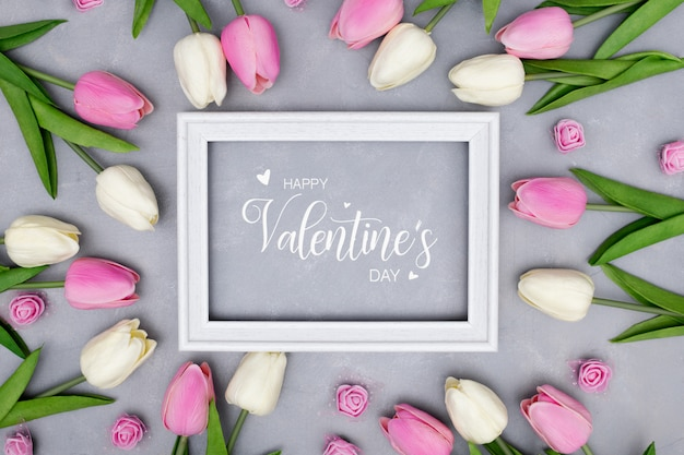 Редактируемый шаблон дня святого валентина Бесплатные Фотографии