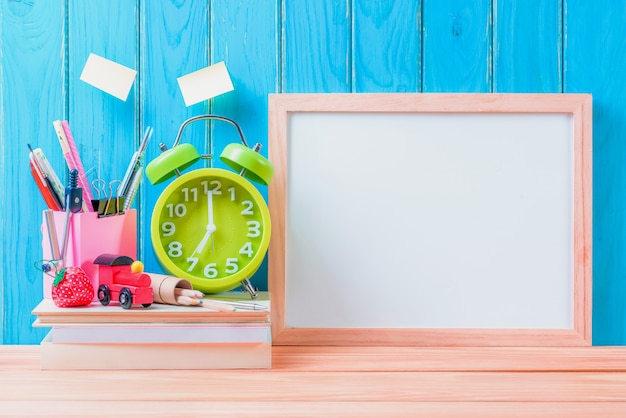 Education, back to school concept background with copy space Premium Photo