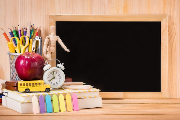 Education, back to school concept with copy space Premium Photo