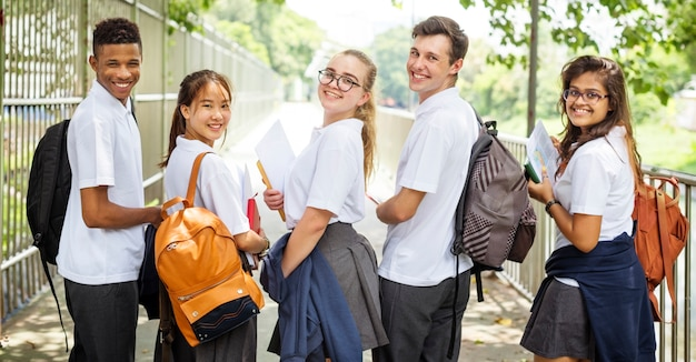Education students people knowledge concept Premium Photo