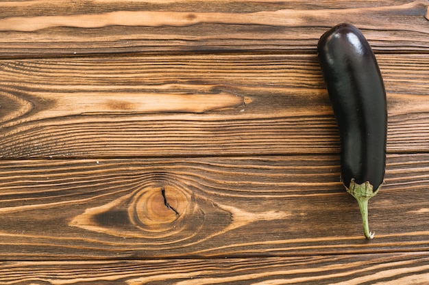 Eggplant on table Free Photo