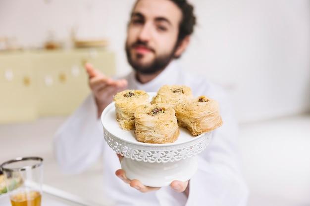 Fantastic Pastry Eid Al-Fitr Food - eid-al-fitr-concept-arab-pastry_23-2147799400  You Should Have_124128 .jpg
