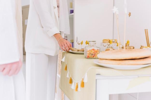 Amazing Table Eid Al-Fitr Decorations - eid-al-fitr-concept-with-decorated-table_23-2147799629  HD_484150 .jpg