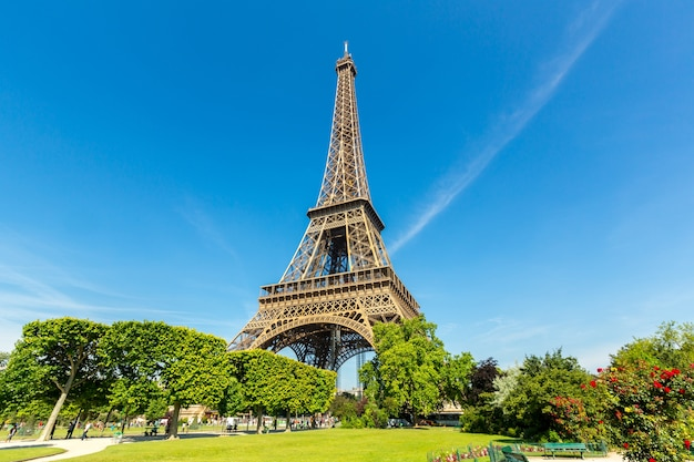 Eiffel tower Premium Photo