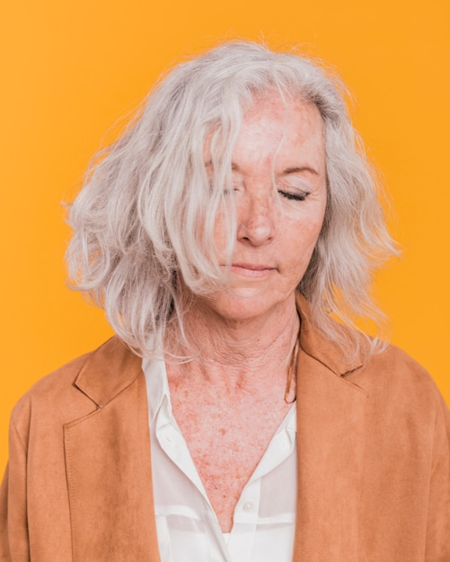 Elderly woman Free Photo