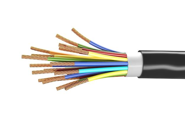 Electric cable Premium Photo