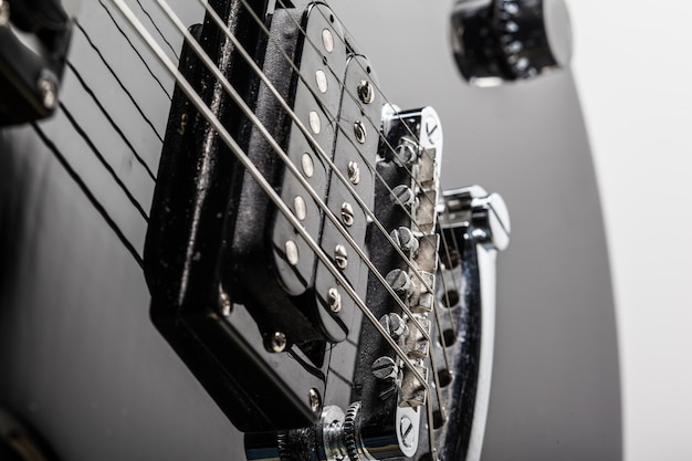 Electric guitar parts Premium Photo
