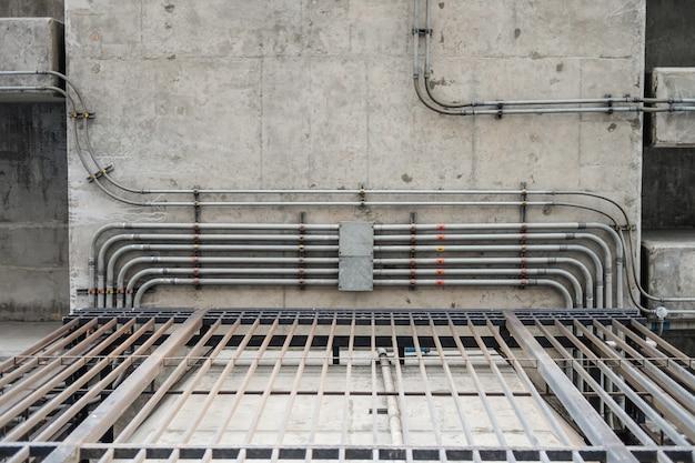 Premium Photo | Electrical conduit & pvc conduit