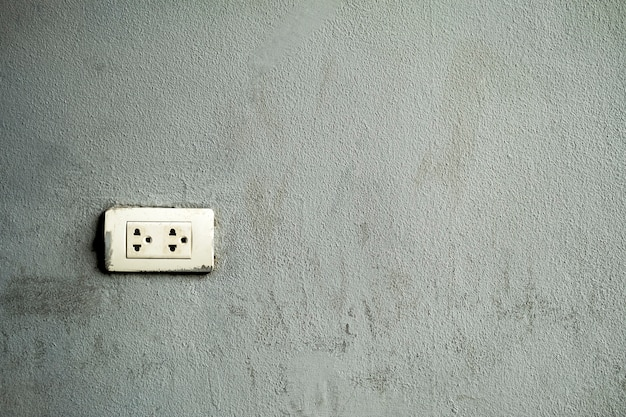 Electrical outlet that was installed on the wall of the room. Premium Photo