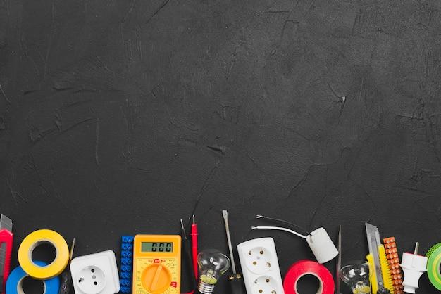Electronic equipment and tools Premium Photo