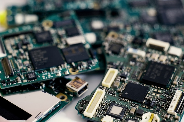 Excellent Electronic Waste Semiconductor In Printed Circuit Board Technology Wiring Digital Resources Biosshebarightsorg