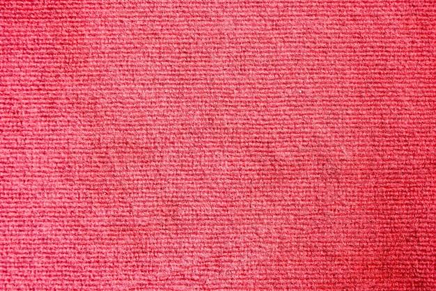 Elegance red color carpet texture background Premium Photo