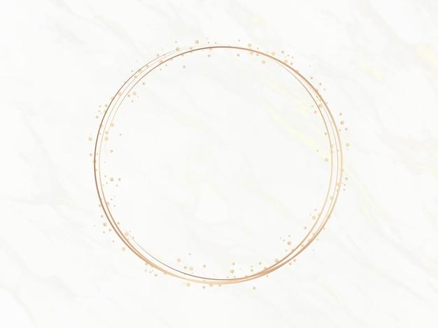 Elegant circle frame Free Photo