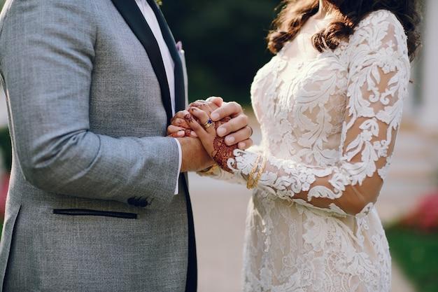 Elegant indian wedding Free Photo
