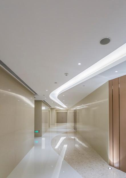 Elevator room of hotel mall Premium Photo