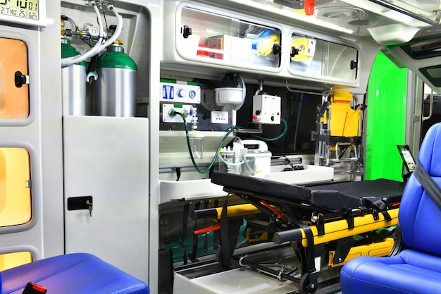Emergency equipment and devices Premium Photo