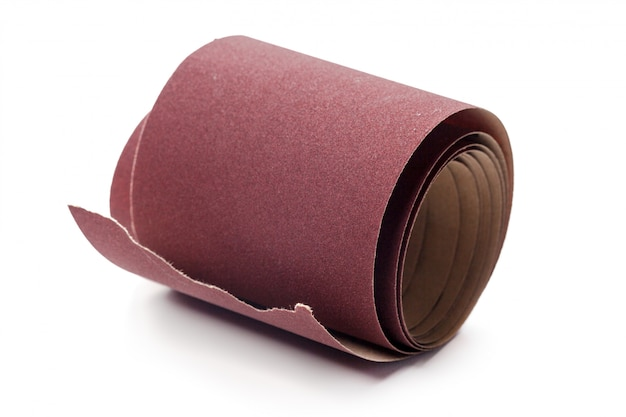 Emery paper - sandpaper Premium Photo