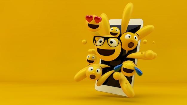 Emoji коллекция выкатывается Premium Фотографии