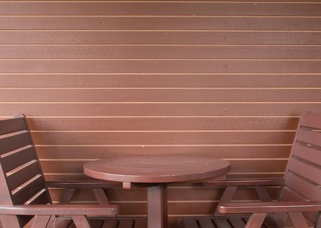Пустой кофейный столик в кофейном магазине Premium Фотографии