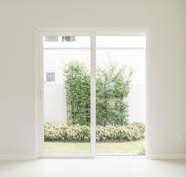 Empty door in living room interior background 1339 4842