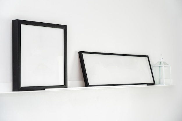 Empty frame with copy space decoration interior Free Photo
