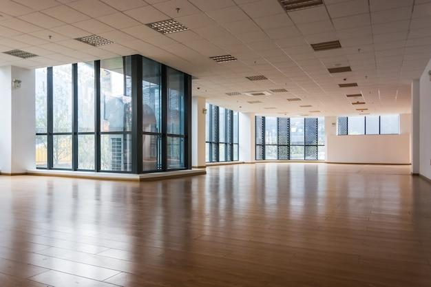 현대 본사의 빈 인테리어 프리미엄 사진