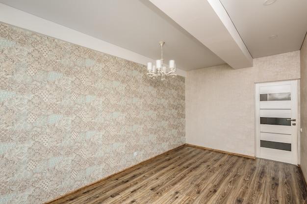 Empty modern room Premium Photo