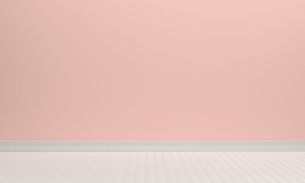 Empty room, 3d illustrations Premium Photo