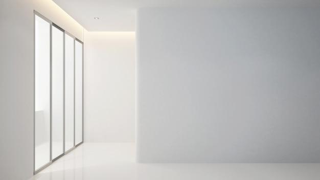 Empty room in apartment or home for artwork - interior design Premium Photo