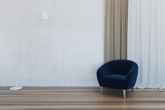 Empty room interior Premium Photo