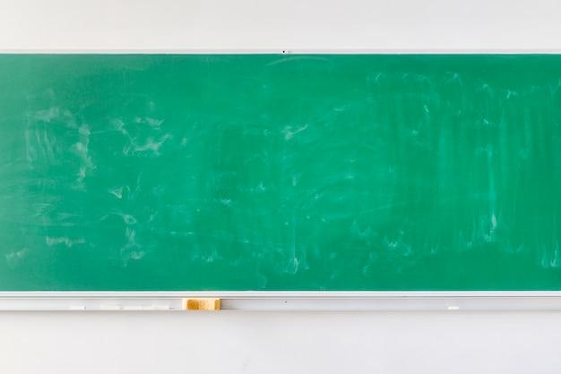 Empty school green chalkboard Free Photo