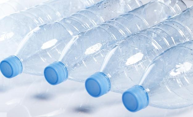 Empty water bottle Free Photo