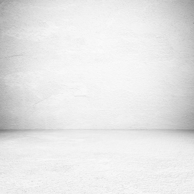 Empty white cement room, background, banner, interior design, product display montage, mock up background Premium Photo
