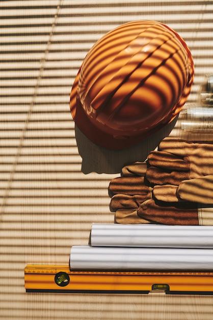 Engineer belongings Free Photo
