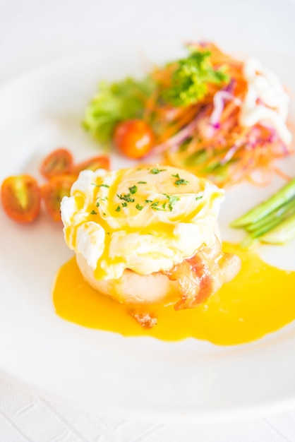 English cuisine chives brunch salmon Free Photo