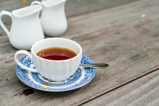 English tea on the table Free Photo