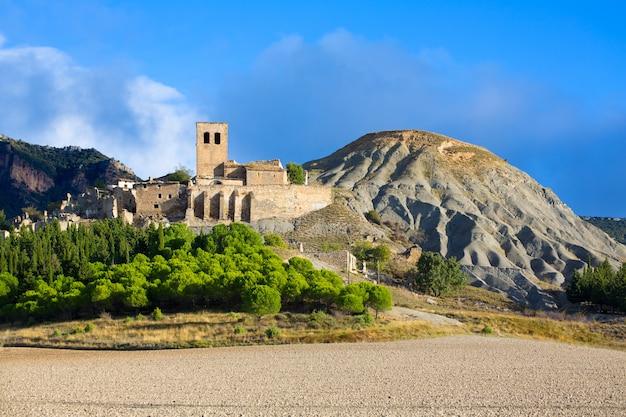 Esco in huesca aragon pyrenees of spain Premium Photo