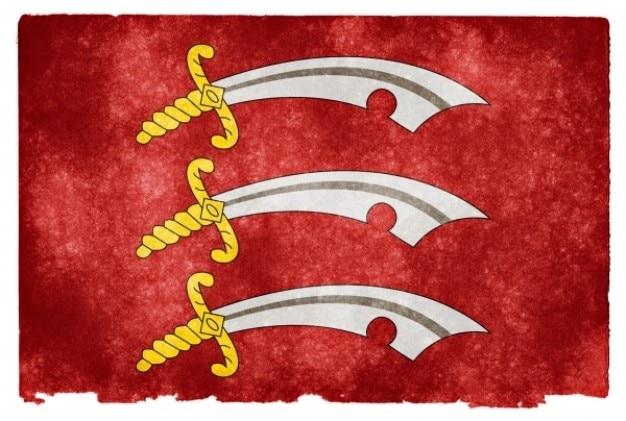 Эссекс гранж флаг Бесплатные Фотографии