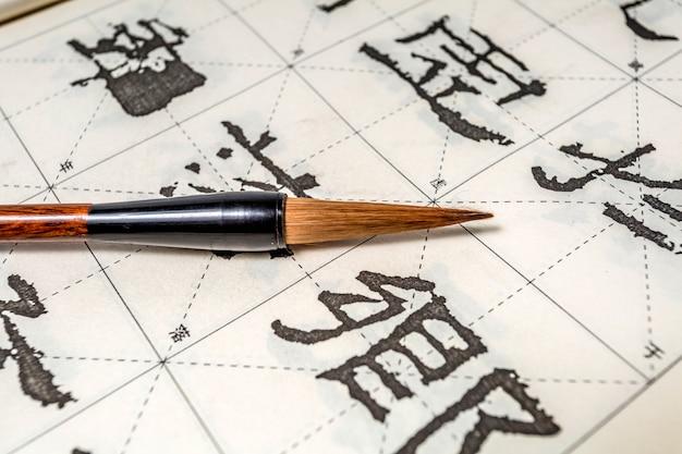 Ethnicity japan pennello sfondo cultura penna Foto Gratuite