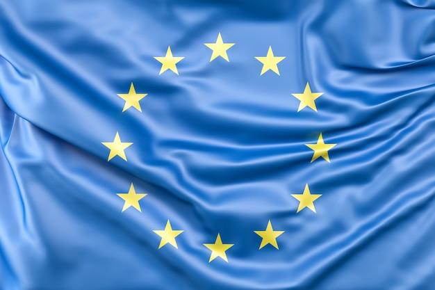 欧州連合(eu)の国旗 無料写真
