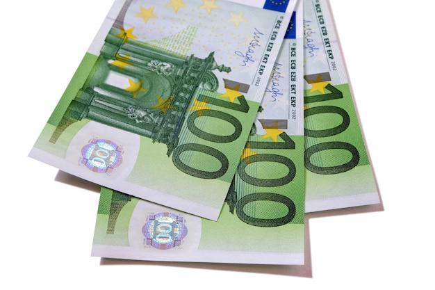 Euro 100 banknotes Free Photo